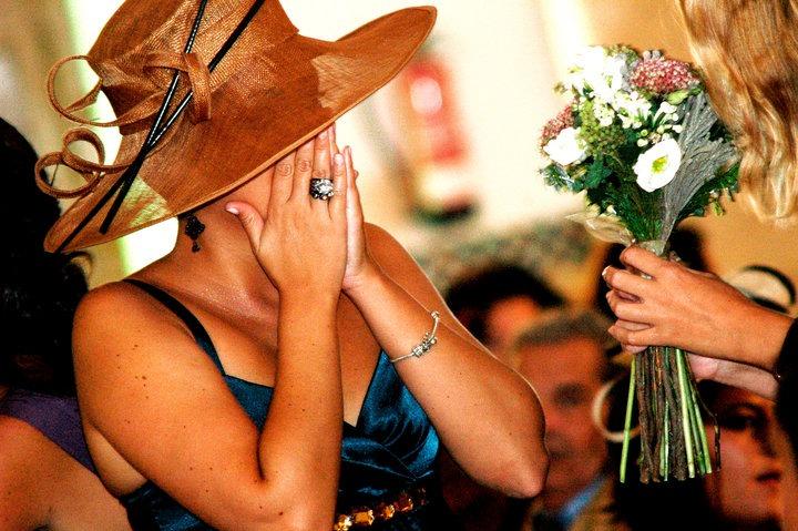 y en el boda civil un momento inesperado