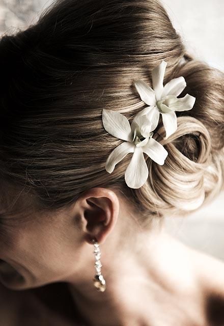 Un toca sencillo y elegante para tu boda