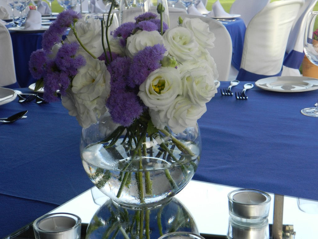centro de mesa de banquete