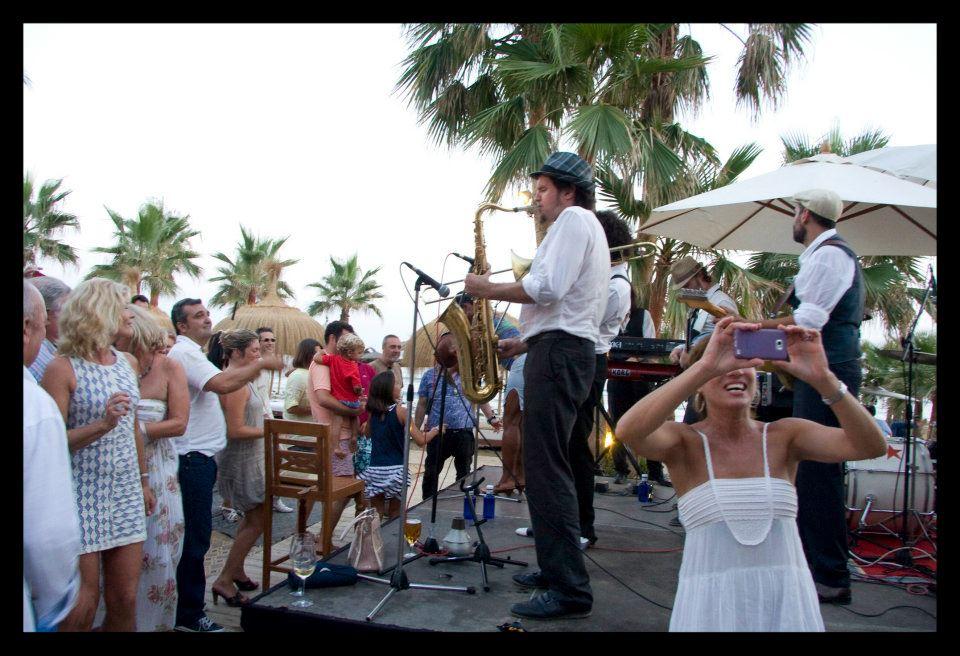jazz en la playa de Marbella para bodas