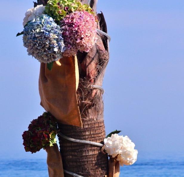 Decoración boda en Marbella