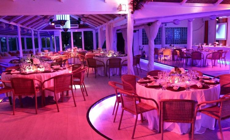 Banquete de bodas en la Costa del Sol