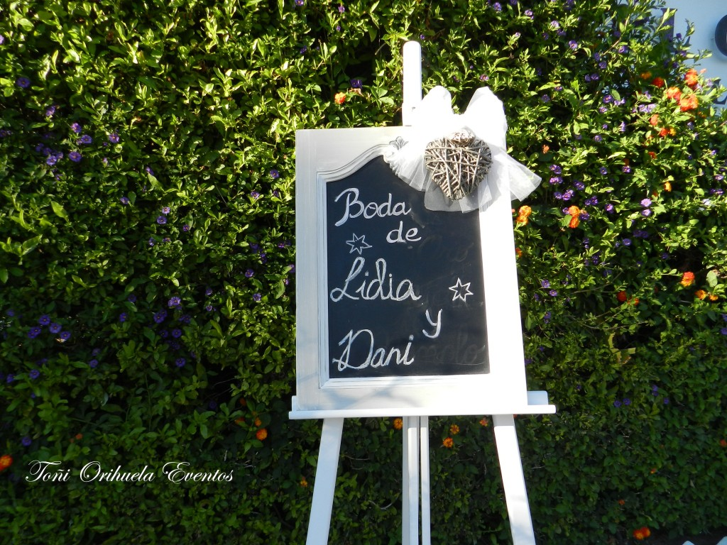 Detalles decorativos de boda