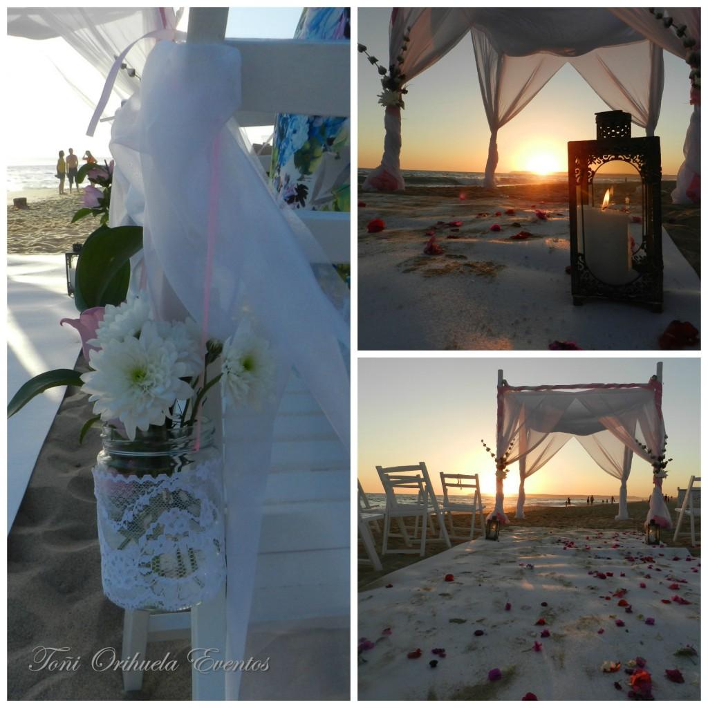 Boda en la playa de Zahara de los Atunes