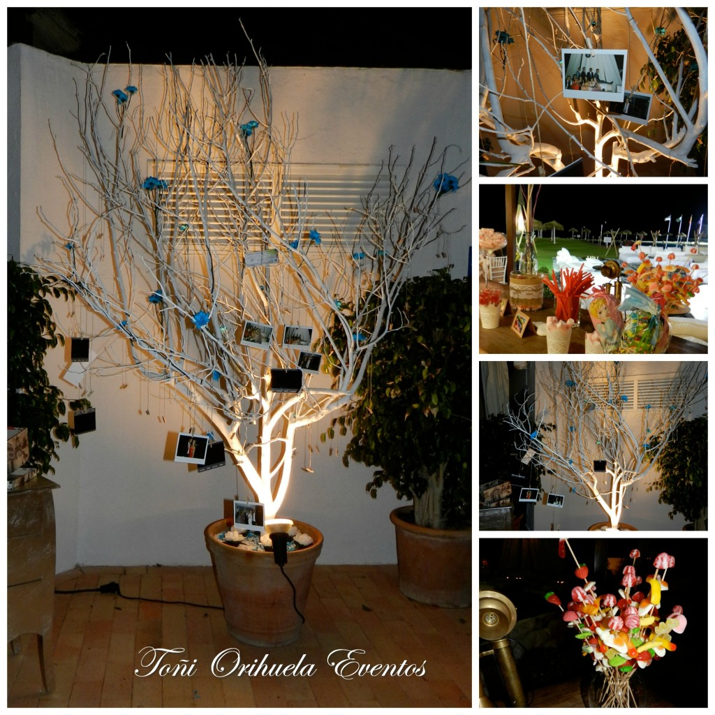 Decoración varia boda