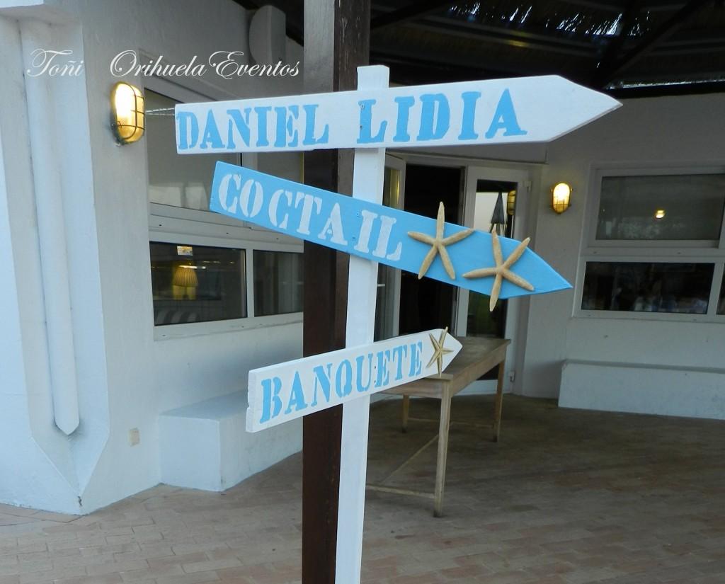Flechas boda Lidia y Dani Campo de Gibraltar