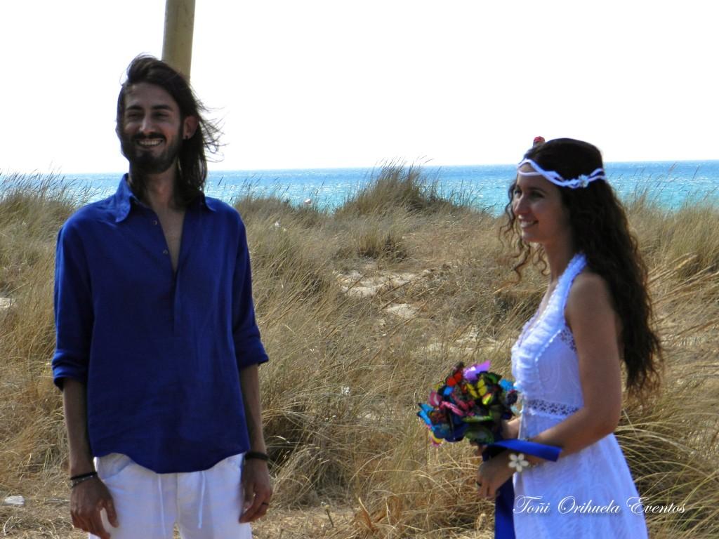 boda en la playas de Cádiz