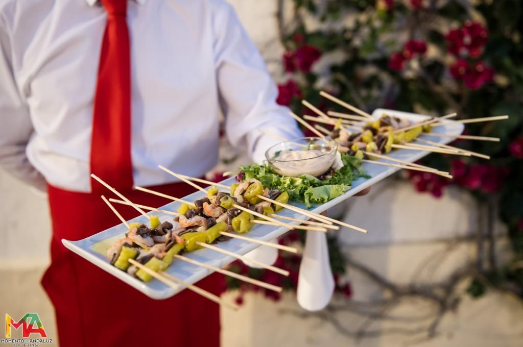 cóctel de banquete de bodas