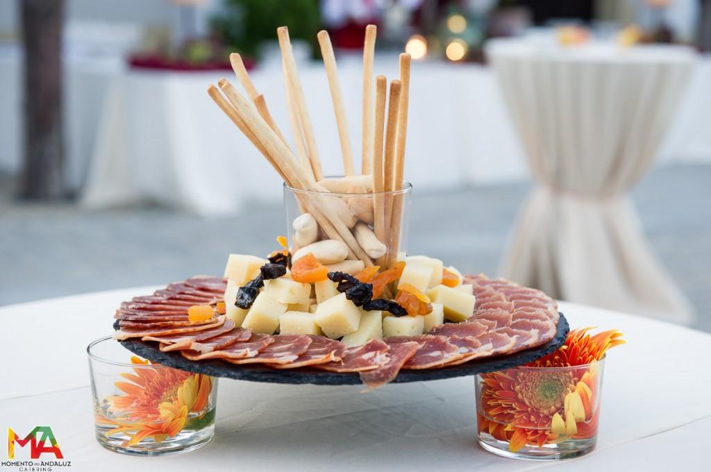 Embutidos para aperitivo de bodas